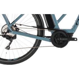 Cube Town Sport Hybrid Pro 400 E-citybike Trapez blå/petroleumsgrøn